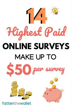 Learn how you can make money taking online surveys, shopping online, surfing the internet, watching videos. These are some of the highest paid online surveys you can take with bonuses just for signing up. Earn real cash taking online surveys Surveys That Pay Cash, Online Surveys For Money, Survey Sites That Pay, Earn Money Online, Online Jobs, Paid Online Surveys, Online Survey Tools, Online Careers, Marketing Program