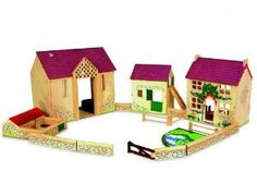 Pintoy Farm Series Deluxe Middlebrook Farm by 0 - Pintoy Toys £89.99