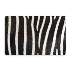 Bungalow Flooring New Wave Zebra Doormat - BedBathandBeyond.com