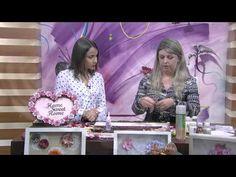 Mulher.com - 06/10/2015 - Artes com flores de papel - Regiane Boppré PT2 - YouTube