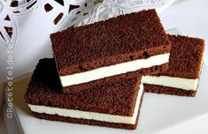 Sweets Recipes, Baby Food Recipes, Baking Recipes, Cookie Recipes, Mini Desserts, Delicious Desserts, Yummy Food, Romanian Desserts, Homemade Sweets