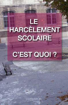Harcèlement scolaire, Ils se manifestent - Francetv.fr