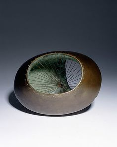 Barbara Hepworth's Sculpture with Colour and Strings (conceived 1939, executed 1961)