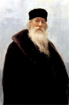 Portrait of the Art Critic Vladimir Stasov, 1900  Ilya Repin