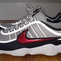 newest collection 15c29 9bb86 Nike Zoom Spiridon Ultra Metallic Silver