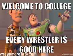 5 things every wrestler learns freshman year of college