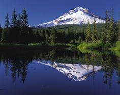 Mt. Hood. Oregon.