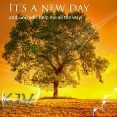 This is the day which the LORD has made; we will rejoice and be glad in it. Psalm 118:24