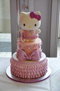 Hello Kitty Cake & Cookies - Cake by Svetlana Petrova