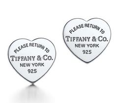 Return to Tiffany & Co Collection Heart Earrings