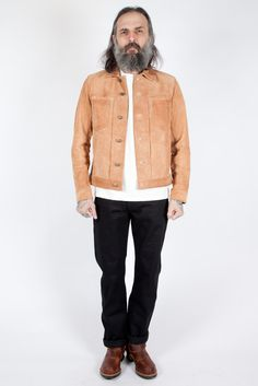 Edwin - Panhead Suede Jacket - Meadow