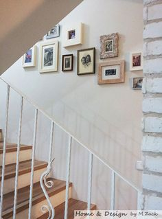stairway framed art and photos