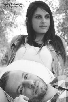 Waiting for Cloe - Fede + Danny #maternità #pregnant #couple #coppia #b&w #biancoenero