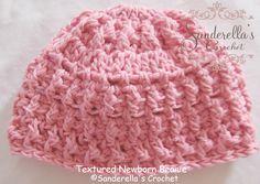Textured Newborn Beanie Pattern Release