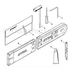 Stihl MS 290 Chainsaw (MS290) Parts Diagram, Carb. HD-18B