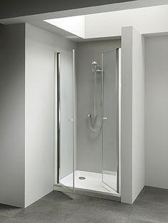 Porta doccia nicchia Palau con 2 ante