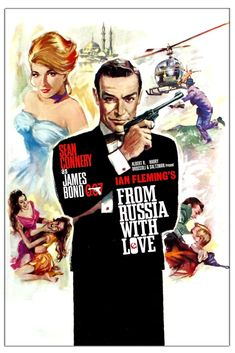 James Bond From Russia with Love (1963)