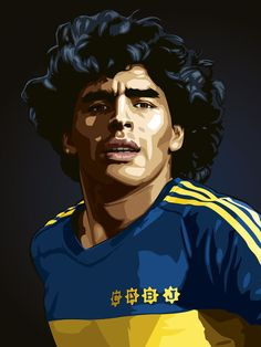 Art Football, Soccer Art, Legends Football, Football Images, Football Is Life, World Football, Nike Football, Arsenal Fc Players, Diego Armando