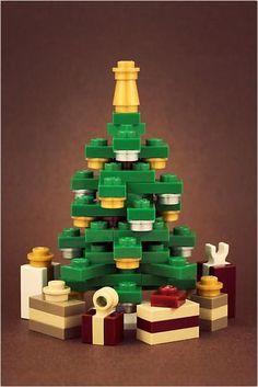 christmas lego   ... bricks) blog: Make your own LEGO Christmas decorations with Powerpig (lego christmas)