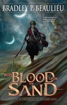 Cover Reveal: With Blood Upon the Sand by Bradley P. Baulieu - On sale  February 7, 2017! #CoverReveal