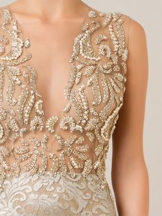 Image gallery for: patricia bonaldi Needle And Thread Wedding Dresses, Fashion Vocabulary, Tie Styles, Beaded Embroidery, Embroidery Applique, Embroidery Designs, Engagement Ring Styles, Zuhair Murad, Embellished Dress