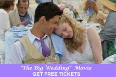 The Big Wedding: Get Free Movie Tickets #thebigweddingmovie
