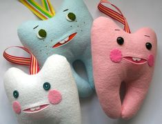 mmmcrafts: tooth pillow tutorial, revisited. I recently updated this tutorial and revised the PDF pattern.