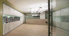 Recepção nos escritórios da Autodesk em Milão, Itália