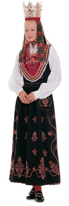 Wings of Whimsy: Traditional Norwegian Bride - Sunnmøre