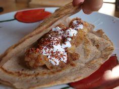 iw-kulinarnie: Naleśniki gryczane z nadzieniem jabłkowym lub sero...