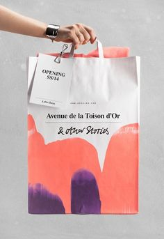 "Name: & Other Stories • Designer: Unknown • Description: ""Het voorjaar begint al erg zonnig: zo heeft & Other Stories, een merk van Hennes en Mauritz, aangekondigd dat het in de zomer 2014 een winkel opent op de Gulden Vlieslaan in Brussel. Eerder kondigde het label ook al aan dat ze een vestiging in Antwerpen openen."" — ""& Other Stories Opent Winkel in Brussel"", Knack Weekend (Retrieved: 15 February, 2014)"