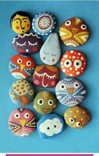 Iscrtani kamenčići   -   Painted stones