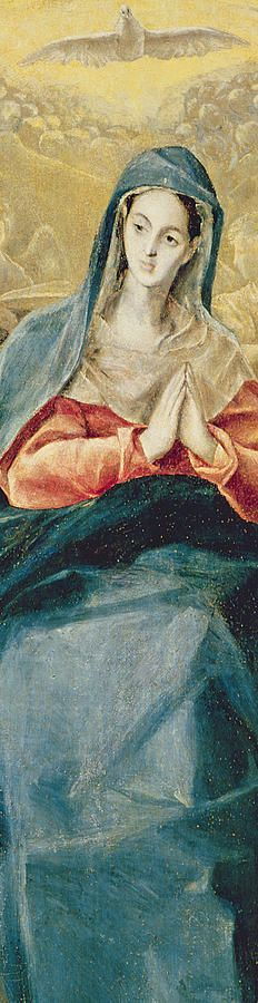 The Immaculate Conception Painting by El Greco Domenico
