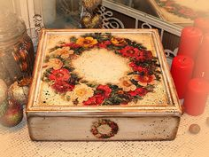 Decoupage Inessa Vidovskoy (Latvia). Boxes .. Discussion on LiveInternet - Russian Service Online diary
