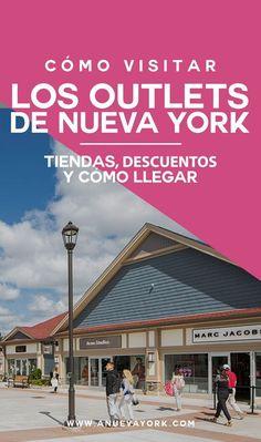 Información para visitar los outlets de Nueva York, Woodbury Common y Jersey Gardens. Cómo llegar y qué tiendas encontrarás. #NuevaYork