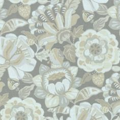 Naive Floral Pewter