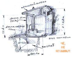 Как построить туалет на даче своими руками поэтапно фото
