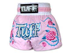 Muay Thai gear TUFF Muay Thai Shorts Rose, Pink