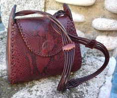 LEATHER HANDMADE BAG / Leather Bag / Bag / Leather by PACOSASTRE