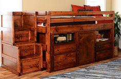 Prescott Twin Secret Hideout Loft Bed