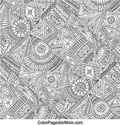 Doodles 11 Advanced Coloring Page