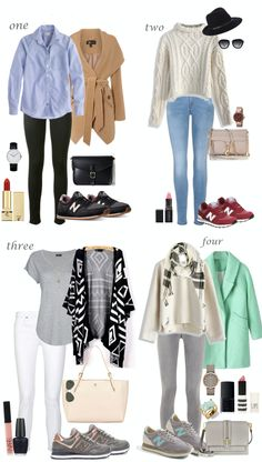 Chic outfit ideas with the New Balance sneakers