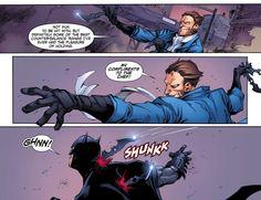 Captain Boomerang vs. Batman