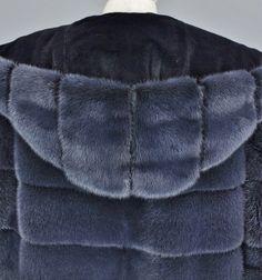 ELLIKER Mink coat hood