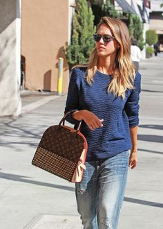 10 Celebrities Caught Looking Like They Styled Their Own Outfits: Jessica Alba