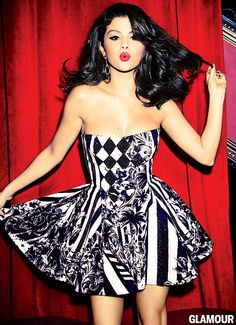 Selena Gomez for Glamour Magazine: What Would've Happened If She Stayed in Texas