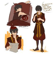 Zuko and dragon part 1