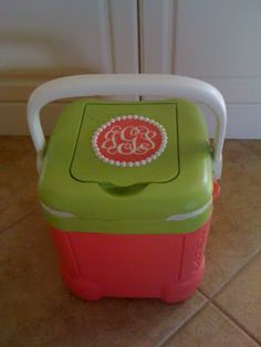 Miss Janice: Prissy and Preppy Personal Cooler