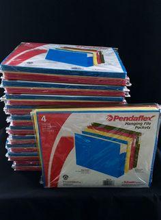 48 Expandable Hanging File Folders
