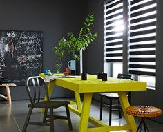 Decorar con amarillo y gris - openDeco. Decoración e interiorismo.